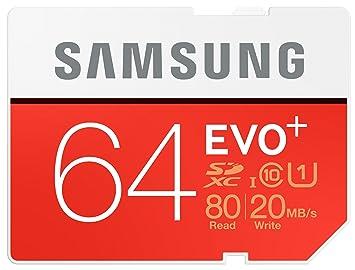 Samsung MB-SC64D/EU - Tarjeta de memoria SD de 32 GB