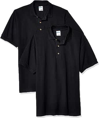 Gildan Mens G3800 Ultra Cotton Pique Sport Shirt, 2-Pack Short Sleeve Polo Shirt
