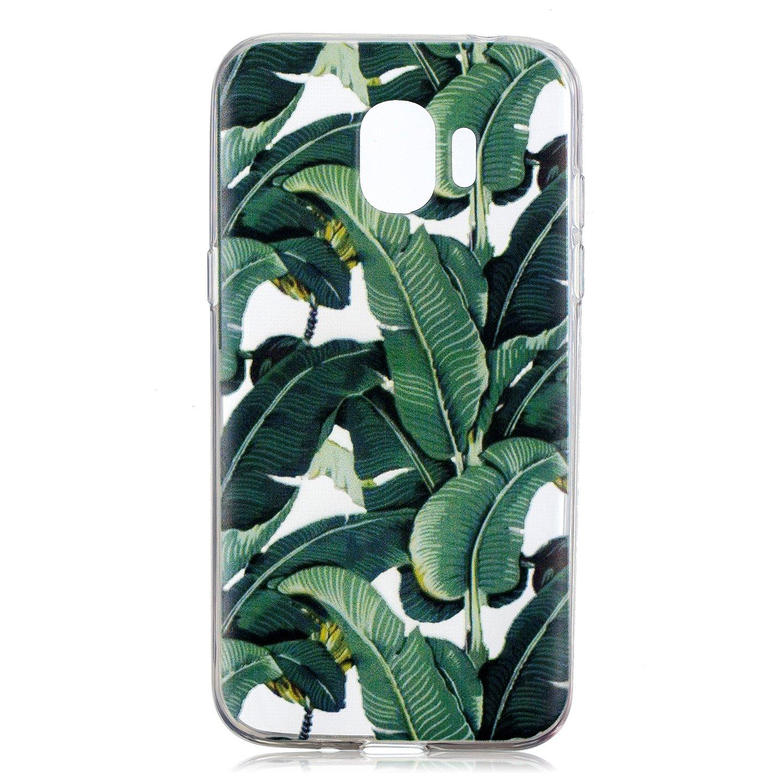 Klassikaline Coque Samsung Galaxy J2 Pro 2018 Transparente Silicone Coque pour Samsung Galaxy J2 Pro 2018 Housse Love Laugh Life