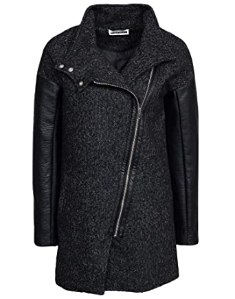 Noisy May Damen NMKYLE Large   Small Weste   Jacke Dunkelgrau Large ... 9140e94c5d