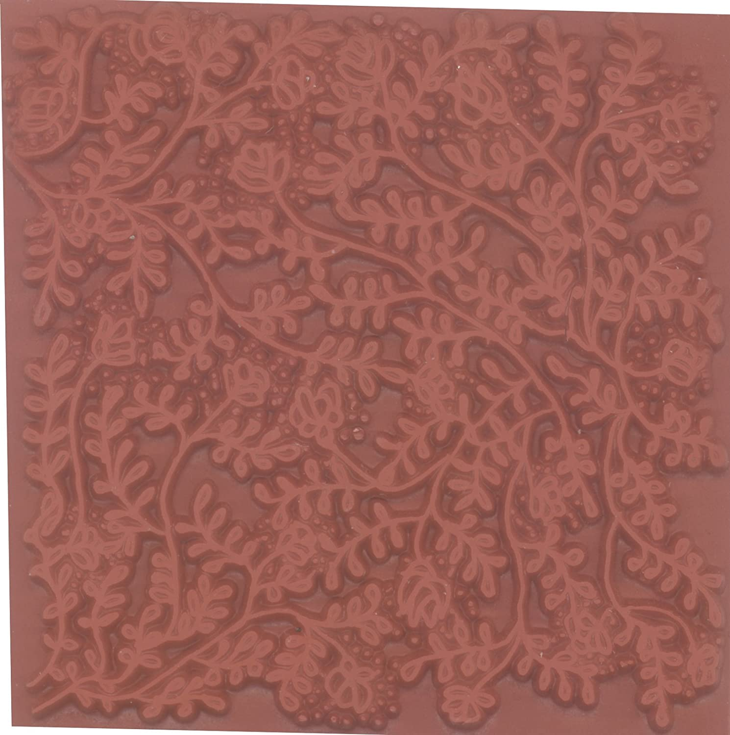 Stamps by Impression TP 1289 Texture Rubber Stamp Plate Vines