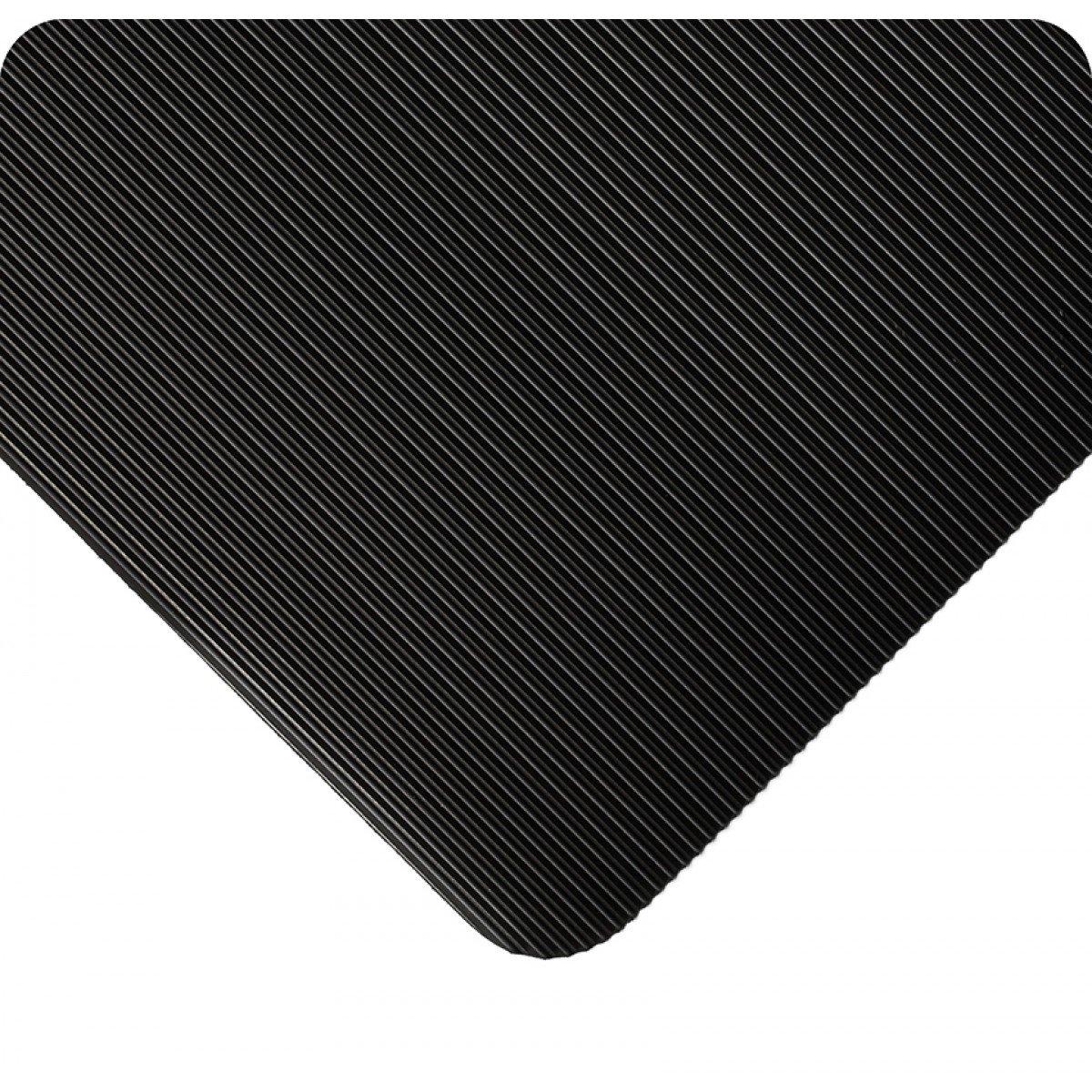 Wearwell 381.18x3x10BK Standard Corrugated Vinyl 10' Mat Runner Max Award-winning store 77% OFF