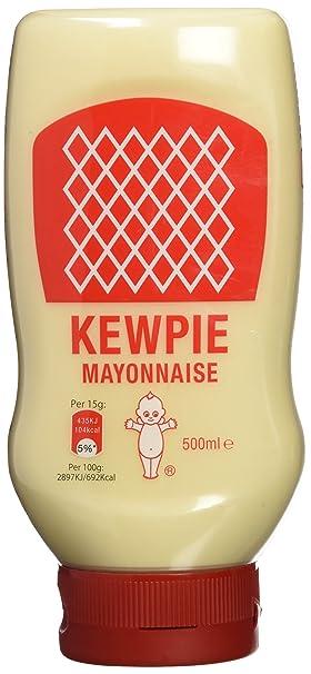 Qp Mayonesa Estilo Japonés - 3 Paquetes de 500 ml - Total: 1500 ml