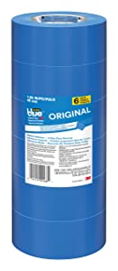 ScotchBlue 2090-48A-CP Painter's, 1.88 in W x 60 yd L, Polypropylene Backing, Blue Tape Inch x 60-Yard, 6 Pack
