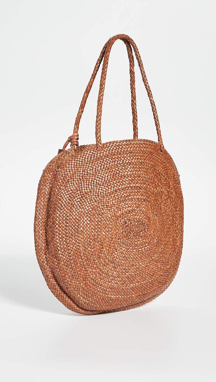 Loeffler Randall Womens Leilani Woven Circle Shoulder Bag