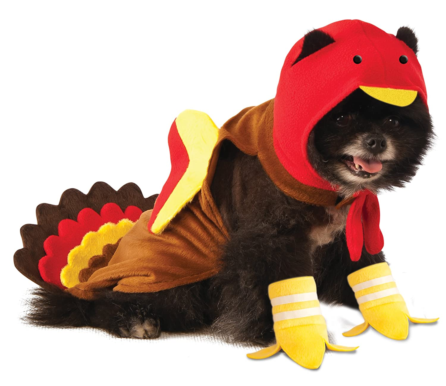sc 1 st  Amazon.com & Amazon.com : Rubieu0027s Turkey Dog Costume : Pet Supplies