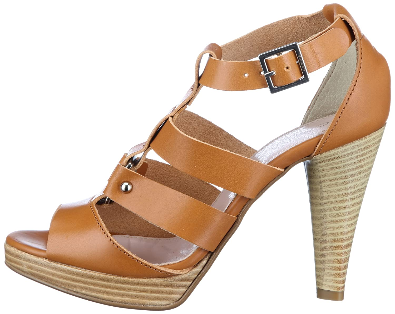 Comma Dora 2072-721 Damen Sandalen/Fashion-Sandalen Sandalen/Fashion-Sandalen Sandalen/Fashion-Sandalen Braun (Cognac 350) 390f16