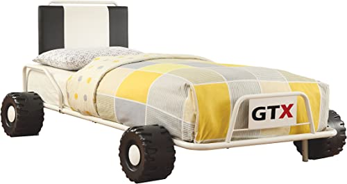 Furniture of America O'Connor Racing Metal Youth Bed