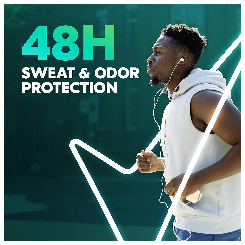 Degree Men Original Antiperspirant Deodorant 48-Hour Odor Protection Cool Rush Mens Deodorant Stick 2.7 oz, 6 Count
