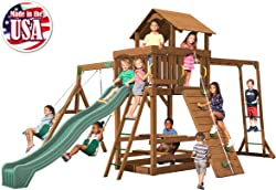 Top 7 Best Swing Sets For Older Kids Playing In Backyard (2020) 7