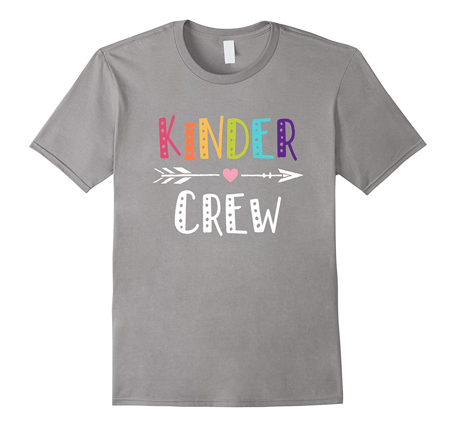 Kinder Crew Kindergarten Teacher T-Shirt 1st Day of School-ANZ