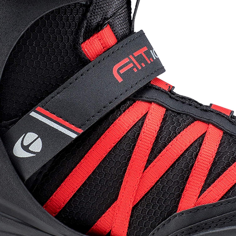 K2 Patins pour Homme F.I.T Ice BOA 48-25D0401.1.1.130 Patins /à Glace Noir 48