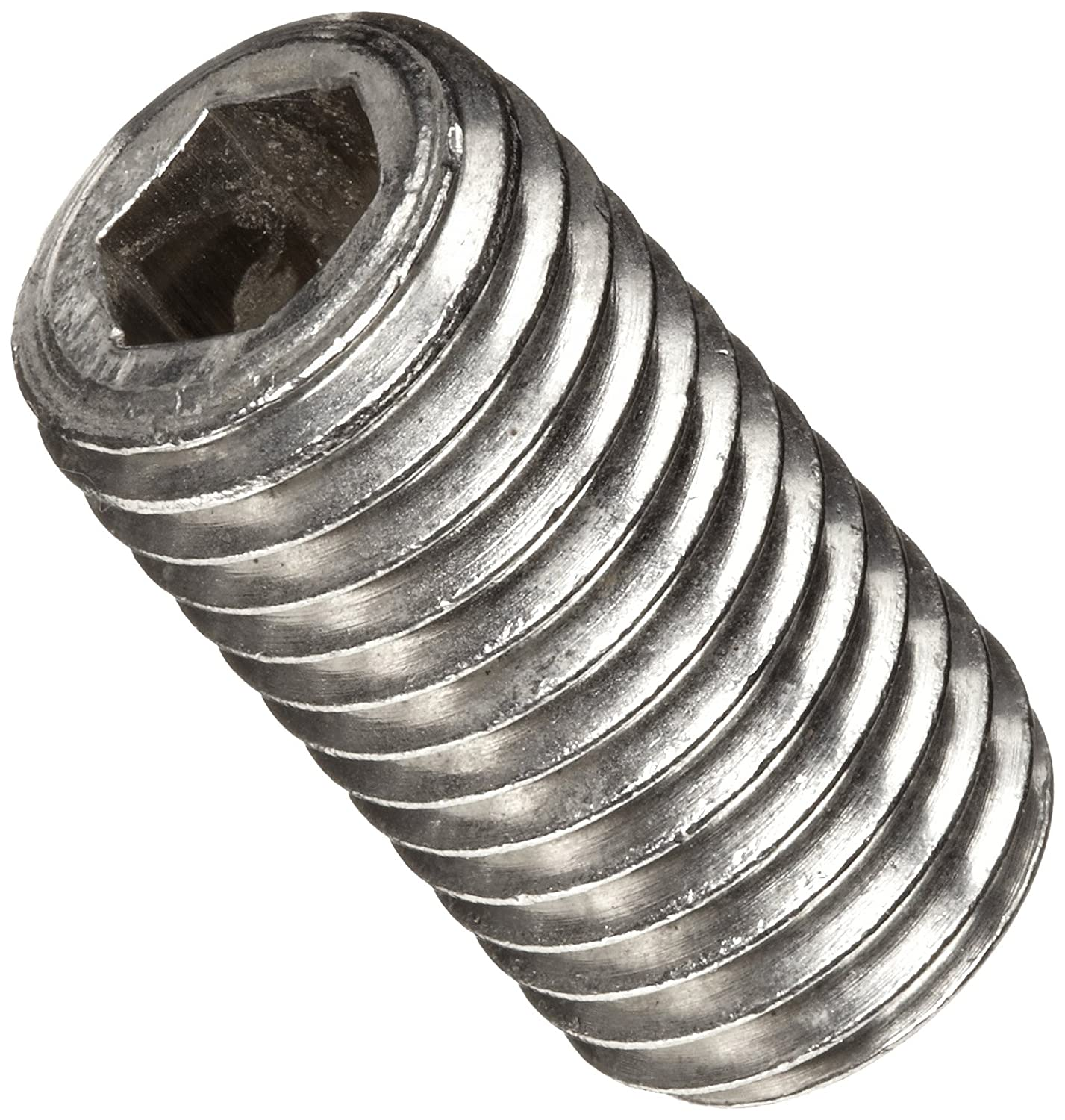 Imported 18-8 Stainless Steel Set Screw Meets ASME B18.3//ASTM F880 Pack of 100 1//4-20 UNC Threads Cup Point 3//16 Length Plain Finish Hex Socket Drive