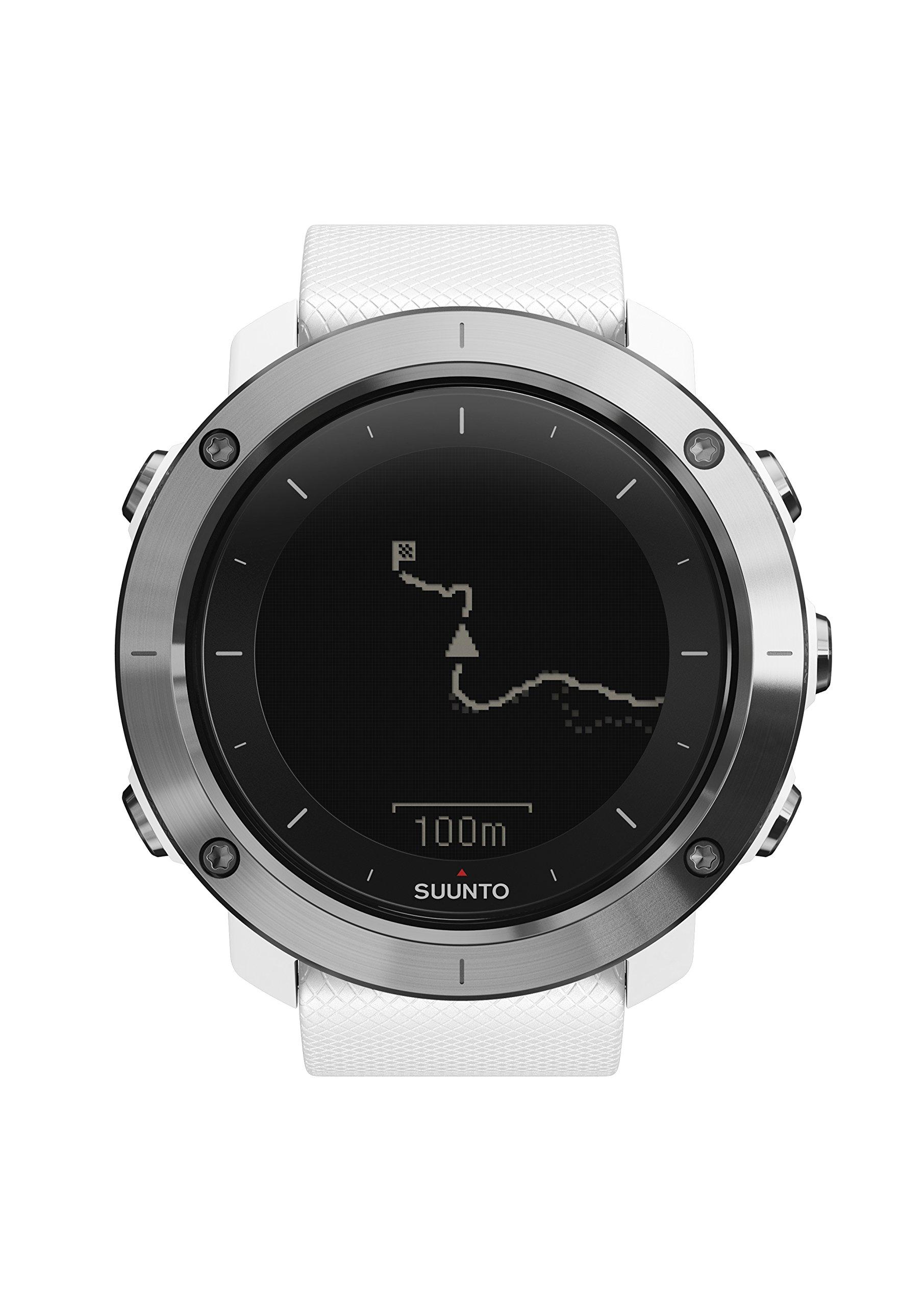 Suunto - Traverse - SS021842000 - Reloj GPS Outdoor para excursionismo y senderismo - Sumergible -