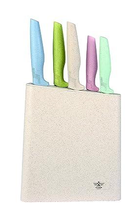 ICA-HOME | Set de cuchillos 5 Piezas + Tacoma|Cuchillo de ...