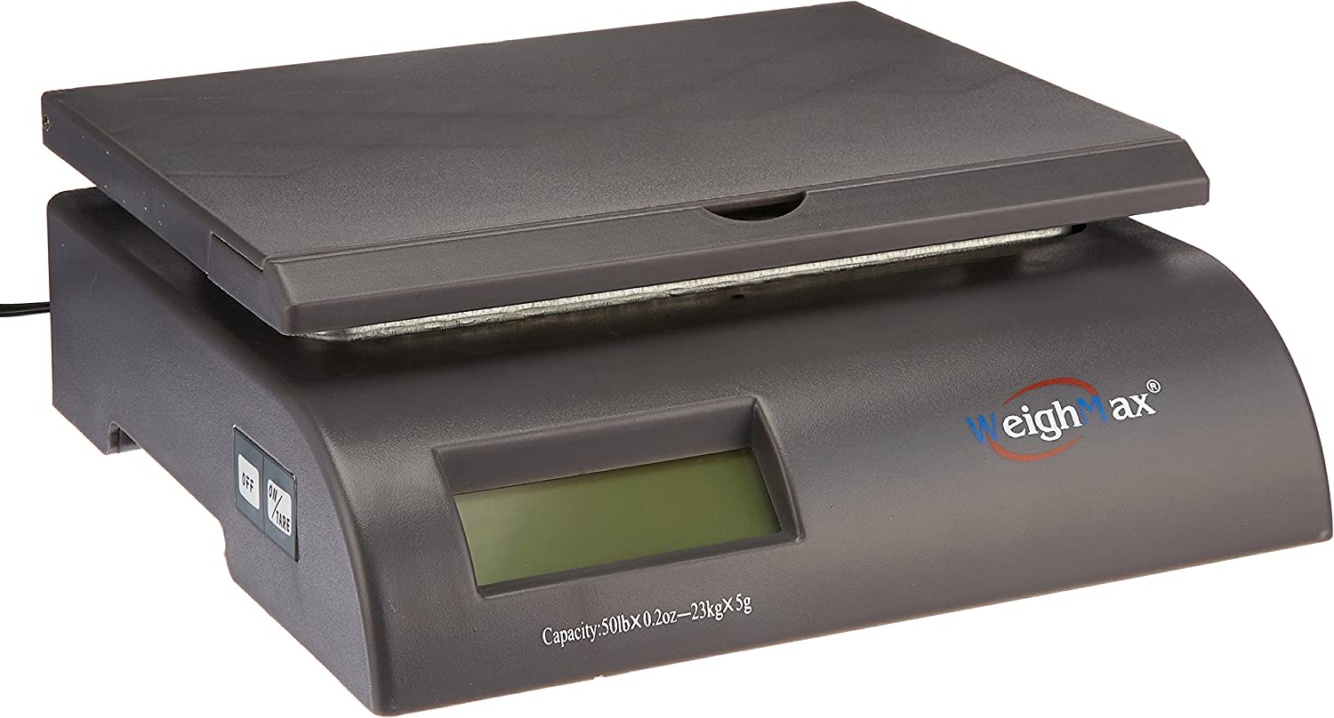 8. 50 Pound Capacity Weighmax 2822-50 Postal Shipping Scale