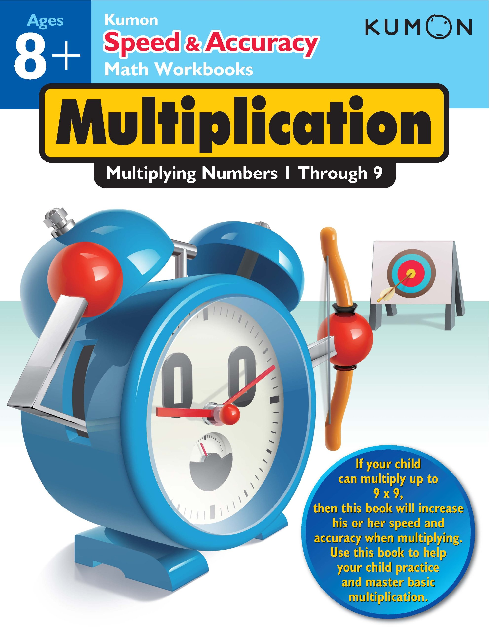 Speed & Accuracy: Multiplying Numbers 1-9 (Speed & Accuracy Math ...