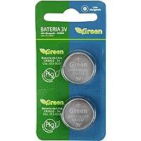 Bateria Cr2032 3V Lítio Manganês - Green com 2 Peças