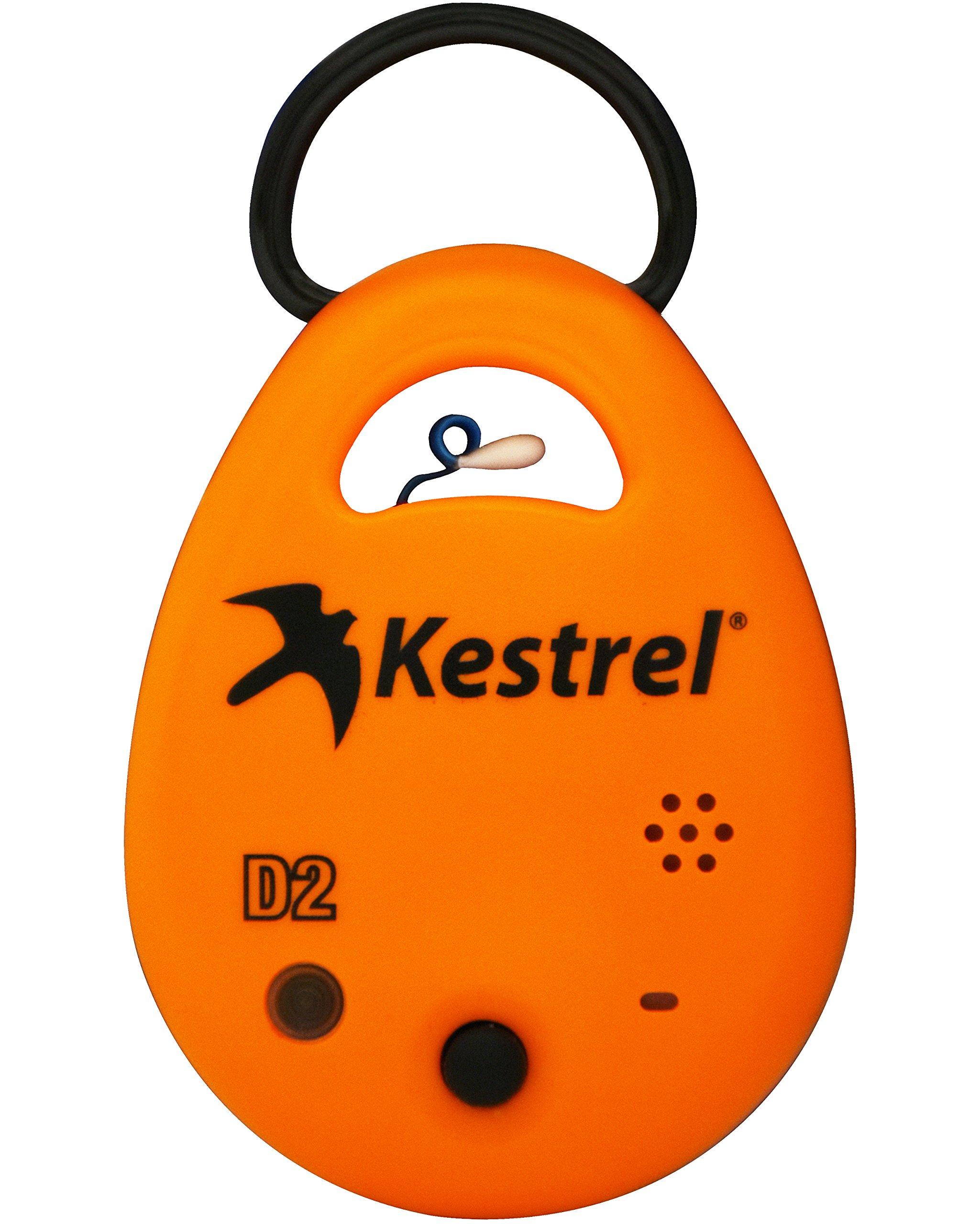 Kestrel Drop D2 Wireless Temperature Humidity Data Logger Orange by Kestrel