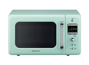Daewoo - Horno microondas digital KOR-6LBR MENTA