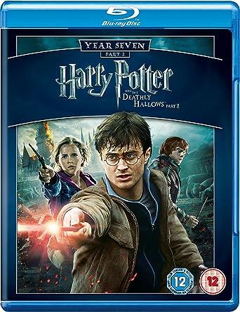 Harry Potter And The Deathly Hallows Part 2 - Triple Play Blu-ray + DVD + Digital Copy Reino Unido Blu-ray: Amazon.es: Daniel Radcliffe, Emma Watson, Rupert Grint, Ralph Fiennes, Helena Bonham Carter,