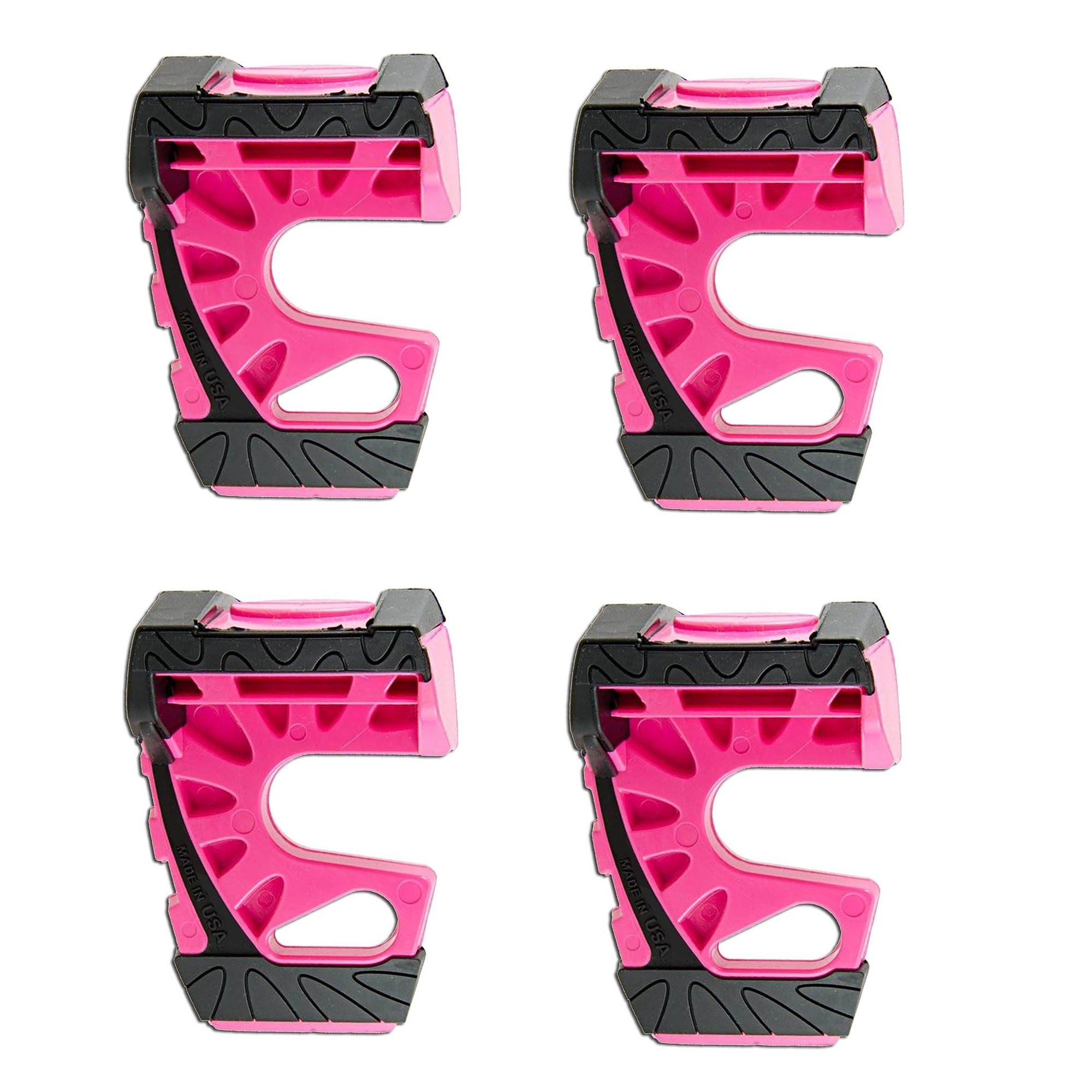 Wedge-It - The Ultimate Door Stop - Pink (4 in quantity) by Wedge-It
