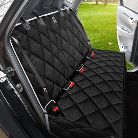 Amazon Com Bronzeman Dog Seat Cover For Back Seat 100 Waterproof Eco Car Seat Protector Heavy Duty And Nonslip Back Seat Cover For Dogs And Kids Strong Durable Universal Size Fits For Cars Trucks
