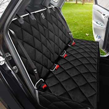 Amazing Bronzeman 100 Waterproof Bench Car Seat Cover Protector Strong Durable Heavy Duty And Nonslip Rear Back Seat Cover With Middle Seat Pdpeps Interior Chair Design Pdpepsorg