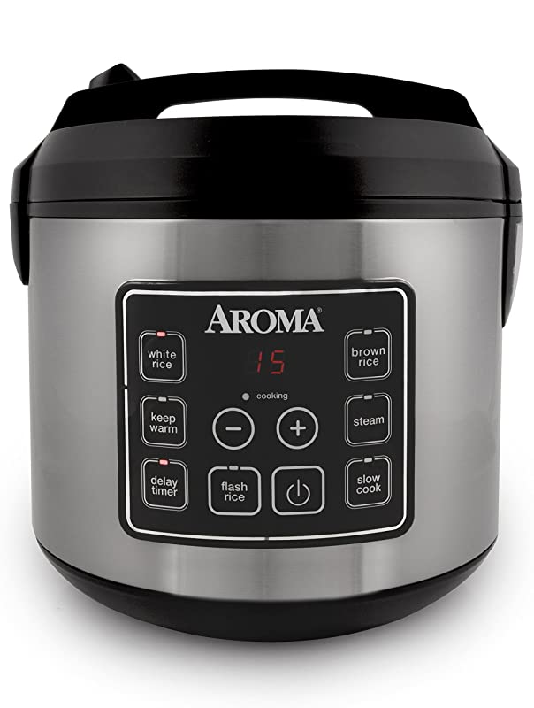 Aroma Housewares 20-Cup (Cooked) Digital Rice Cooker Review