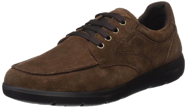 TALLA 42 EU. Geox U743QB00022, Zapatos de Cordones Hombre