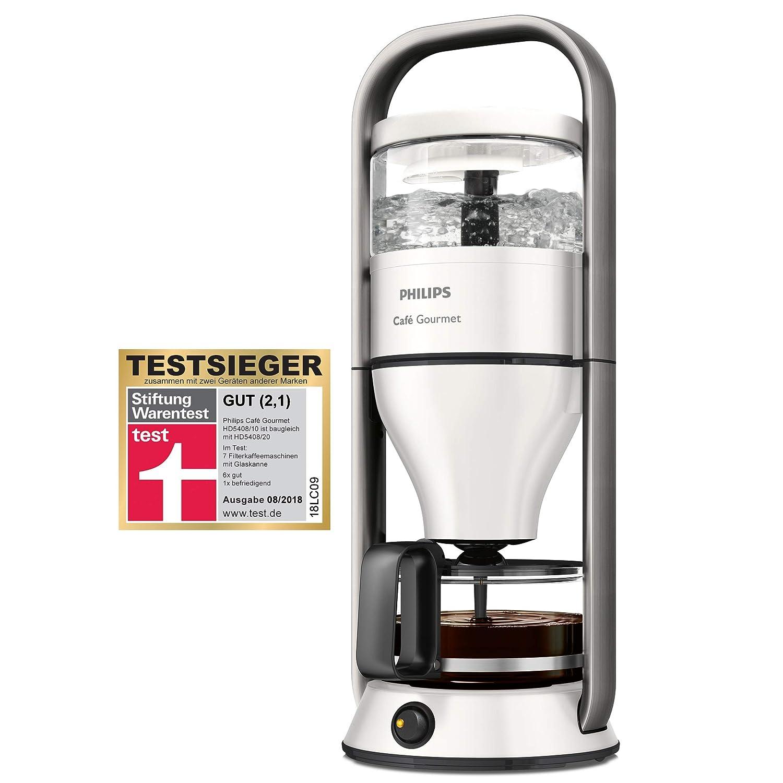 Philips coffee machine Caf/é Gourmet HD5408//10 white Fassungsverm/ögen Tassen=12