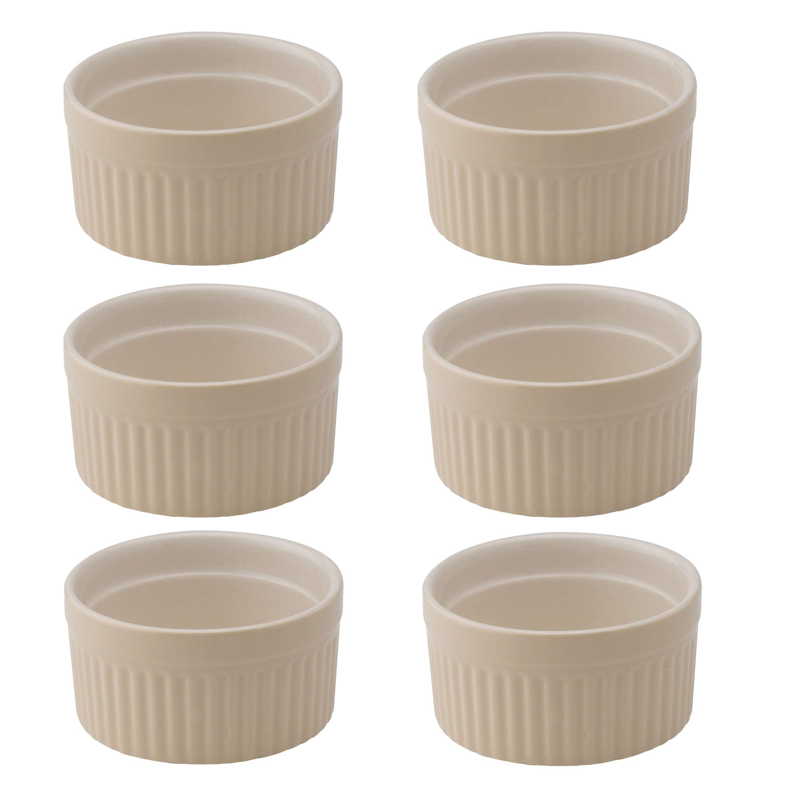Mrs. Anderson's Baking Ramekin, Ceramic Earthenware, Wheat, 2.5-Inch, 2-Ounce Capacity