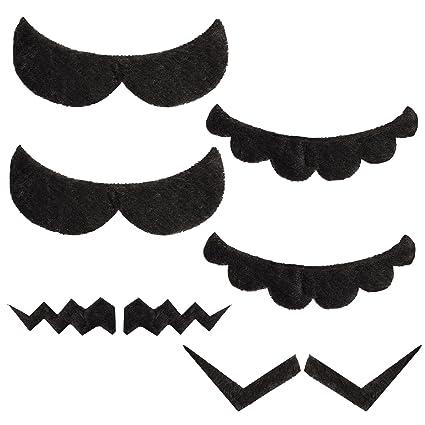 Katara 1826 - Set de 6 Bigotes Autoadhesivos Super Mario Bros ... e8058264717