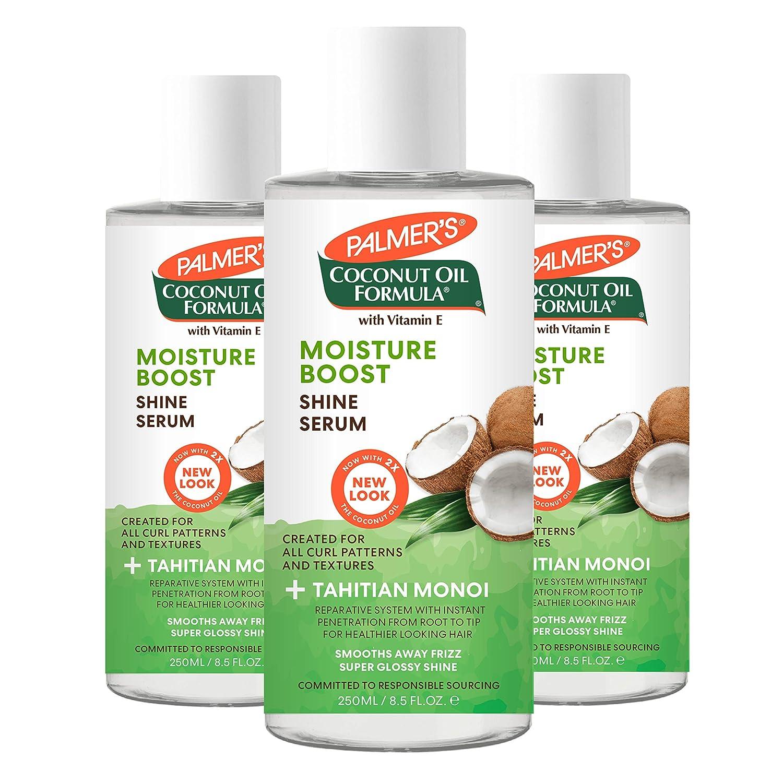 Palmer's Coconut Oil Formula Hair Polisher Serum, 6 Ounce (Pack of 3)