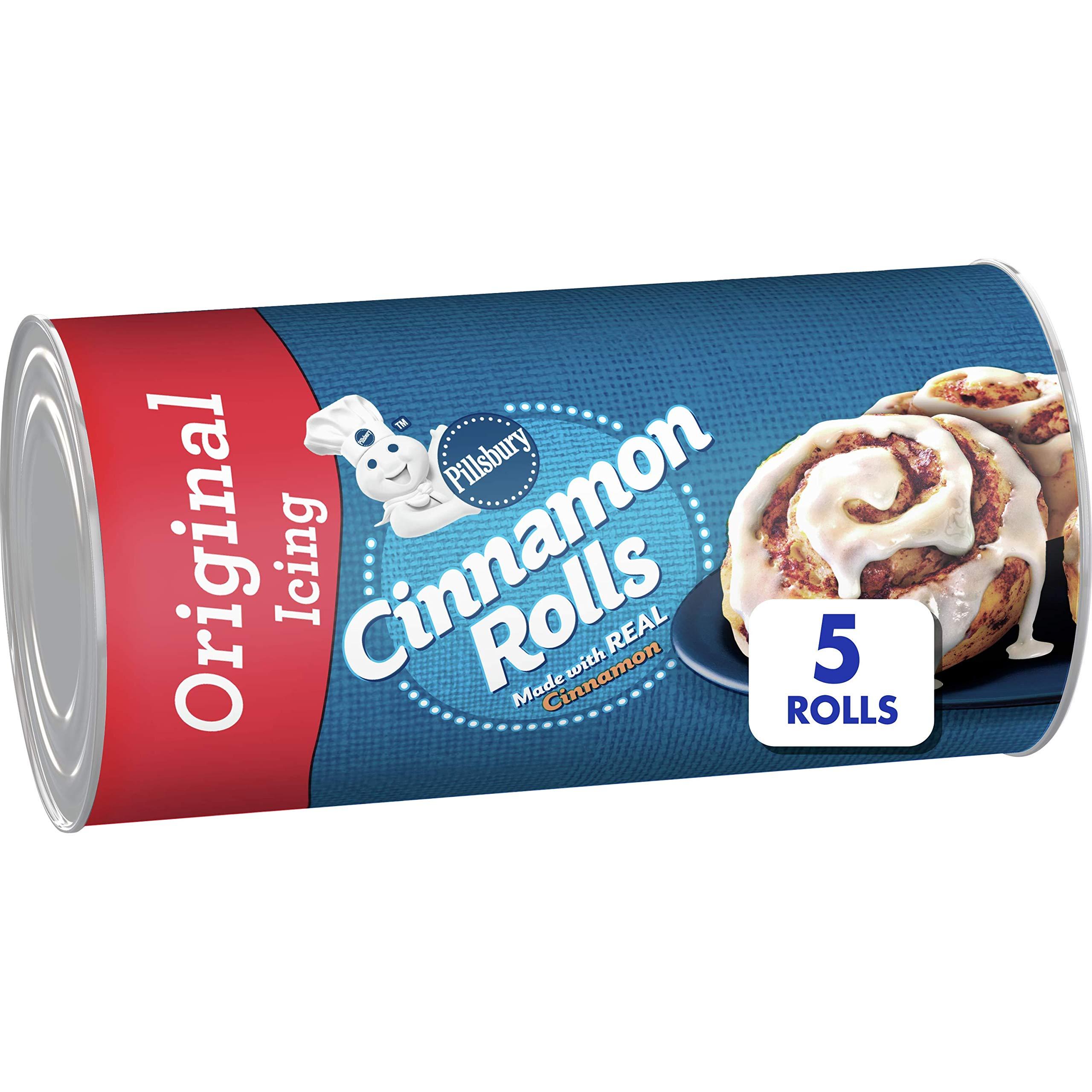 Pillsbury Cinnamon Rolls With Icing, 5 ct, 7.3 oz
