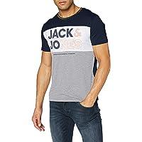 Jack & Jones Jjarid tee SS Crew Neck Camiseta para Hombre