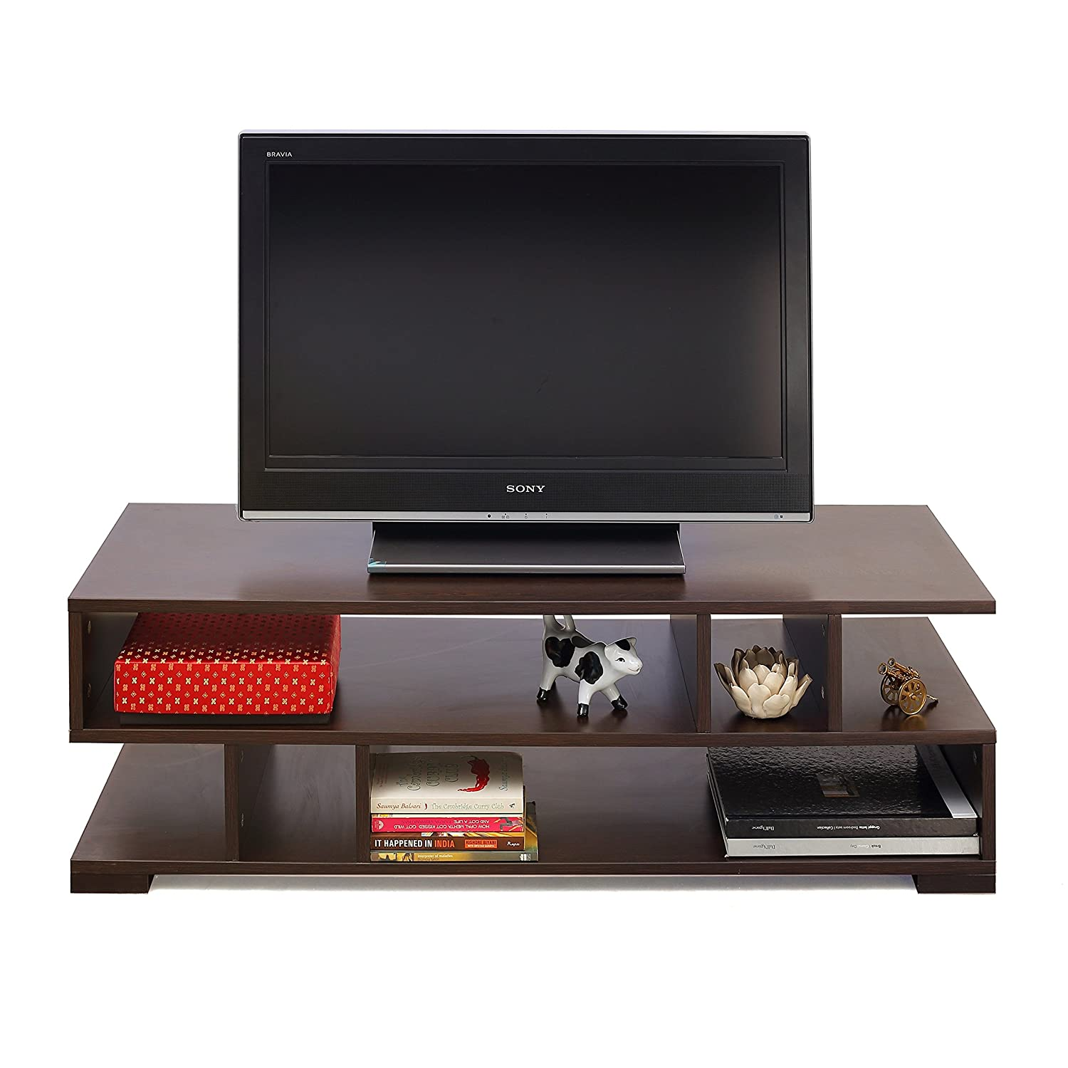 Forzza Daniel TV Unit Large Matt Finish Wenge