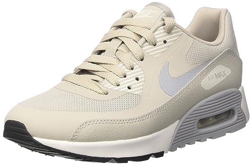 6008f25ff1c044 Nike Damen W Air Max 90 Ultra 2.0 Laufschuhe Mehrfarbig (Pale Wolf  Grey Summit