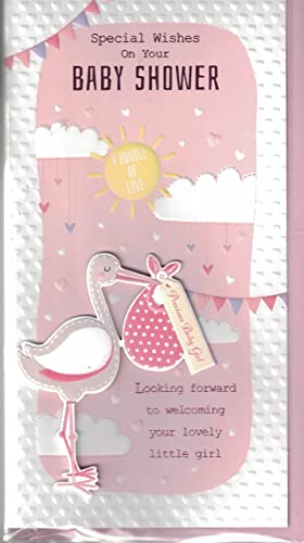 Baby Shower Card ~ With Special Wishes As You Celebrate Your Baby Shower ~  Card For