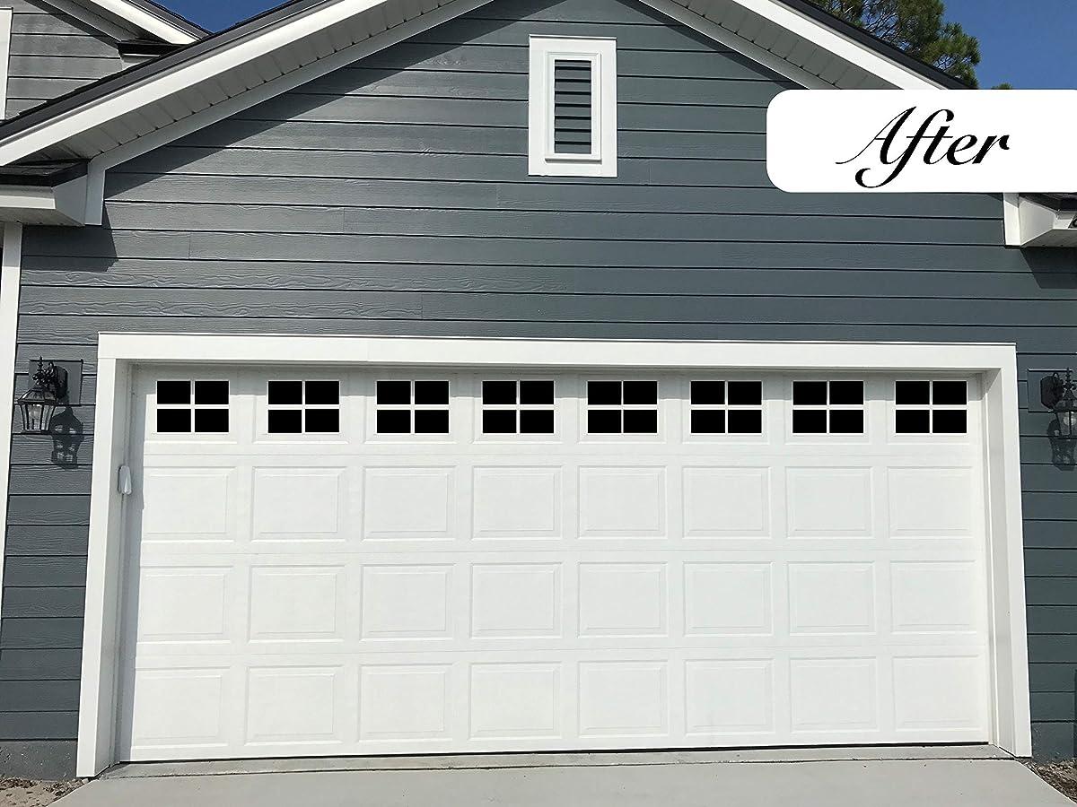 Best magnetic fake windows for garage doors