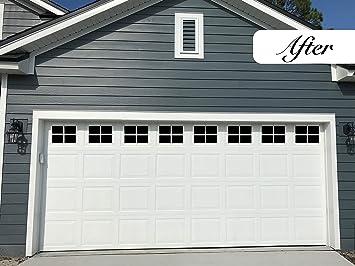 """Hardware Garage Door Decorative Hinge 24/"""" Black Set of 4"""