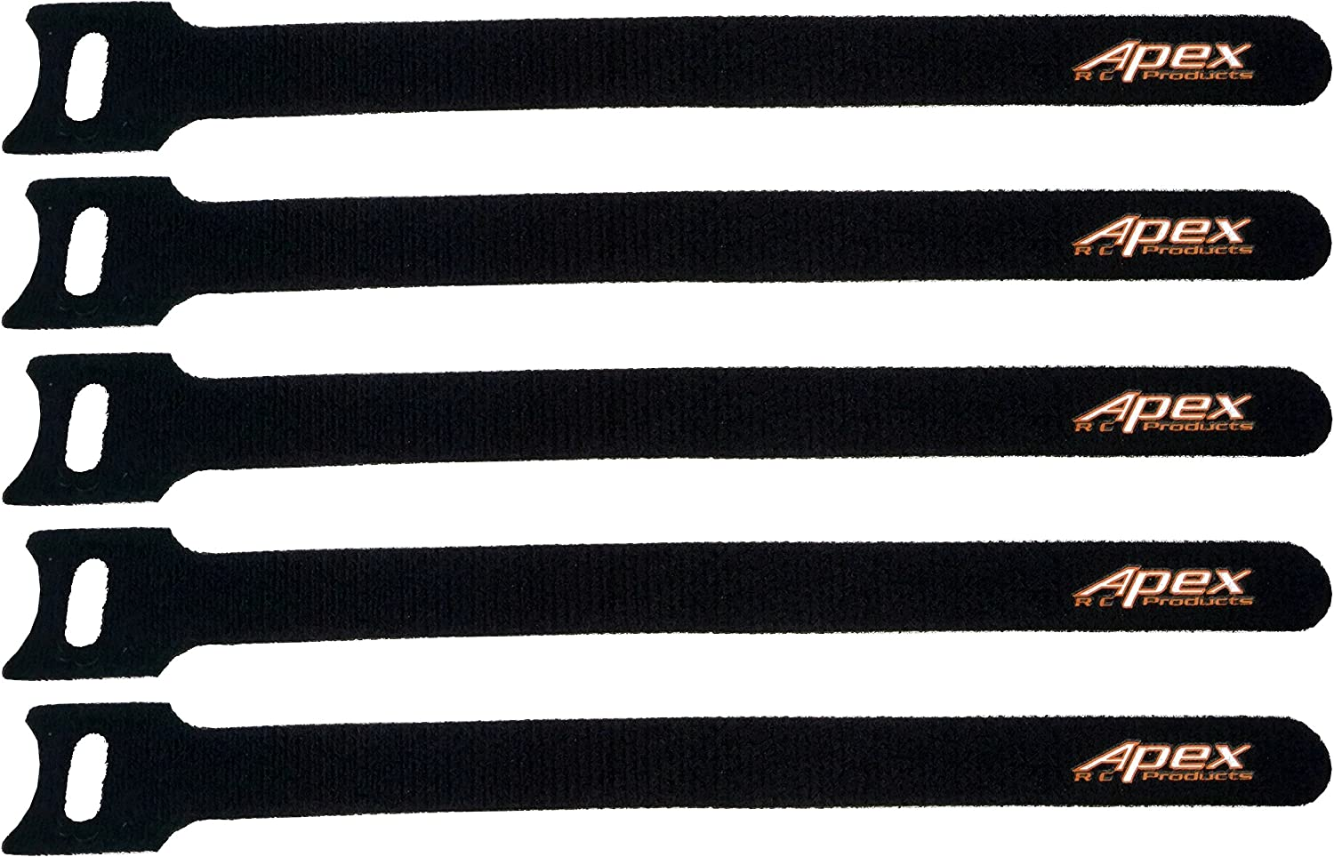 6PCS Hobbypark RC Battery Straps 20x200mm Cable Straps Reusable Fastening Staps Securing Straps Hook and Loop Cinch Cable Ties Down Wraps Adjustable Cinch Straps