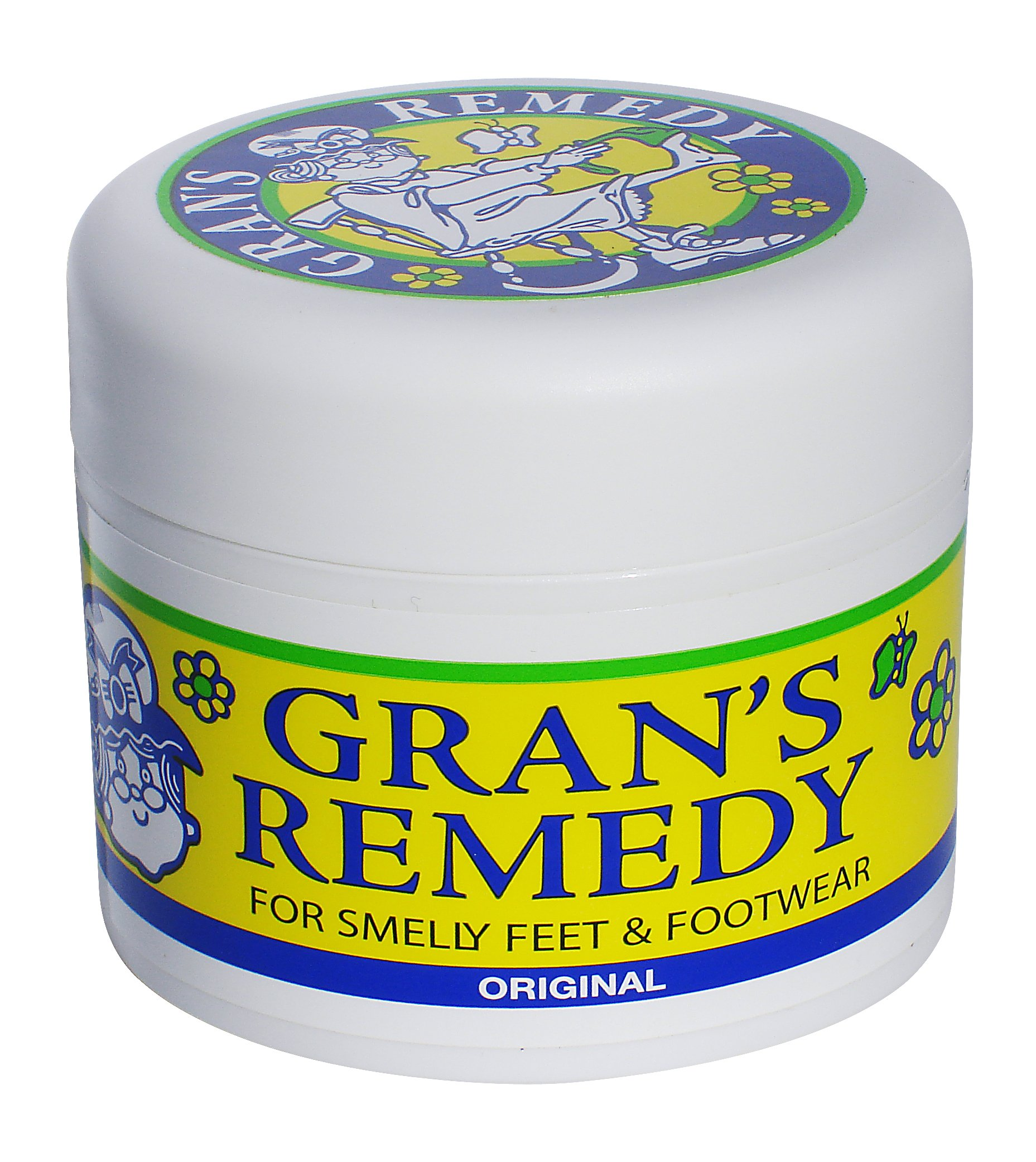 Gran's Remedy Shoe Deodorizer Powder and Foot Odor Eliminator Original (Original) by Gran's Remedy