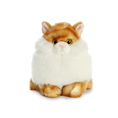 Aurora World Fat Cats Plush Toy Animal, Butterball Tabby: Toys & Games