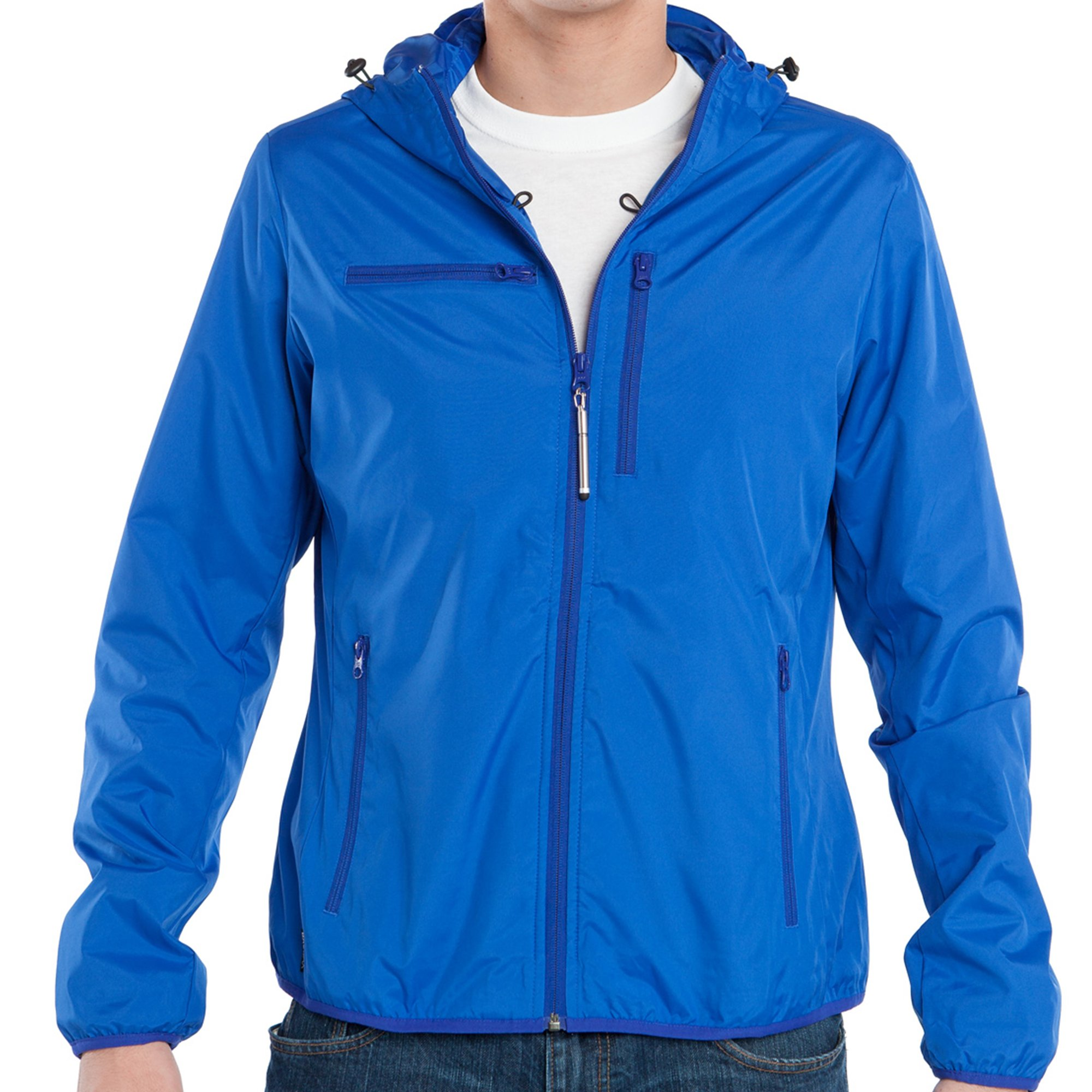 Baubax Travel Jacket - Windbreaker - Male - Blue - Small
