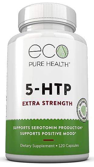 Amazon.com: 5-HTP Extra Fuerza Suplemento dietético, soporta ...