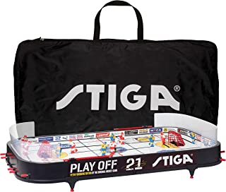 Stiga Play Off 21 Sverige-Canada Including gamebag Icehockey Game Mixte Enfant, Black/White, 96 x 50 cm STIIN|#Stiga 71-1145-35