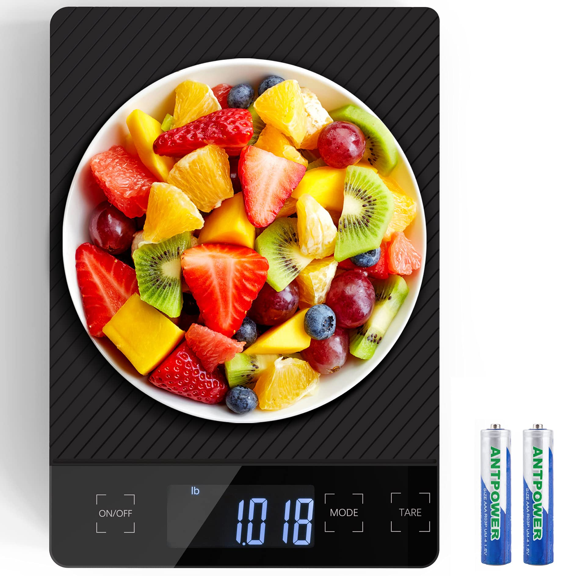 Food Scale 33lbs/15kg Digital Food Kitchen Scale Weight Grams and oz for