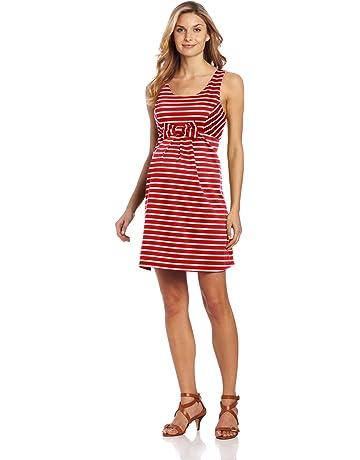 d92a2bbddd17 Maternal America Women's Maternity Sleeveless Bow Dress