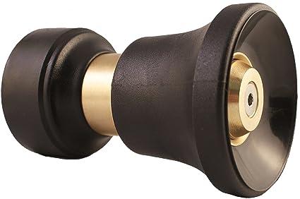 Heavy Duty Brass Fireman Style Hose Nozzle - Fits All Standard Garden Hoses  - Best High 9e64f3d91a